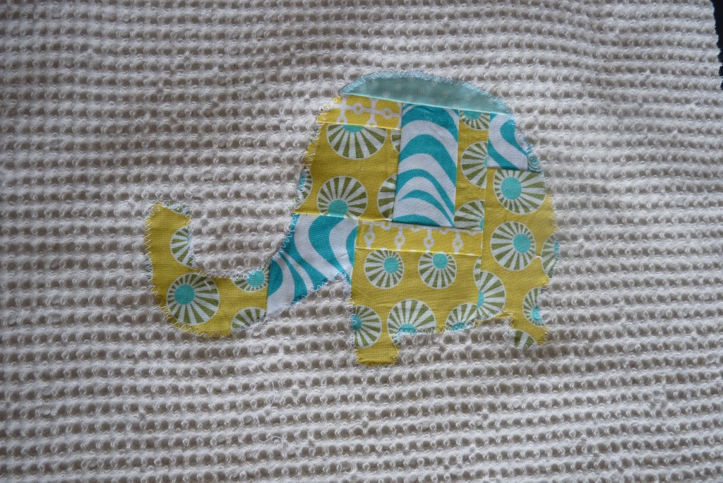 éléphant patchwork